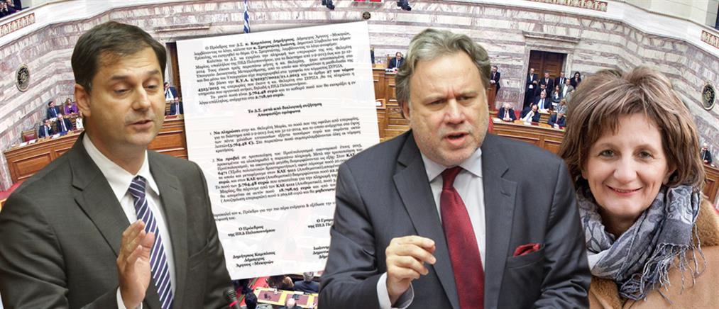 Θεοχάρης: Τροπολογία για να πληρωθεί υπερωρίες βουλευτής του ΣΥΡΙΖΑ