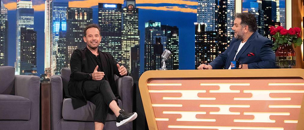 """The 2night Show"" - Πυρπασόπουλος: Η αποχή από την τηλεόραση και ο έρωτας"