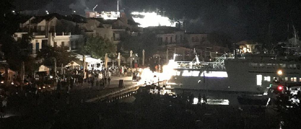 Σκιάθος: Αποκαταστάθηκε η ηλεκτροδότηση στο νησί