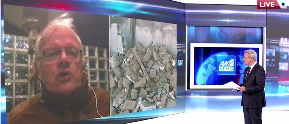 """Τσελέντης στον ΑΝΤ1: γιατί η Θεσσαλία θα """"τρέμει"""" για μήνες (βίντεο)"""
