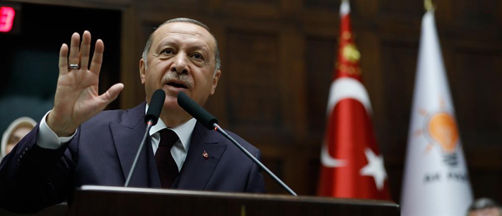 Ερντογάν: δεν θα σταματήσουμε τις έρευνες για πετρέλαιο στην ανατολική Μεσόγειο