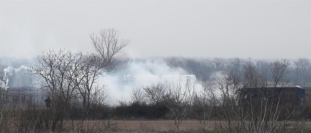 Έβρος: Επεισόδια και χημικά στις Καστανιές