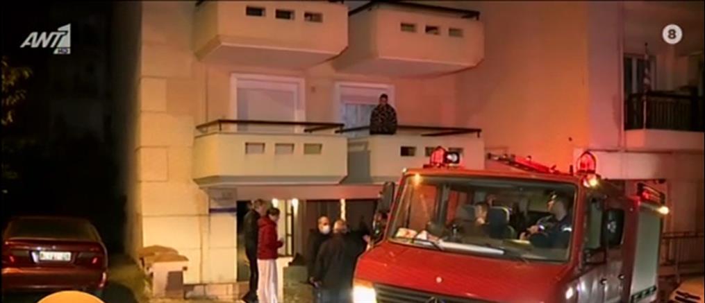 Θεσσαλονίκη: Φωτιά σε διαμέρισμα (βίντεο)