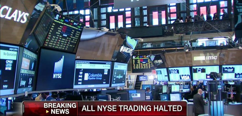 Πολύωρη διακοπή της συνεδρίασης του Χρηματιστηρίου της Νέας Υόρκης