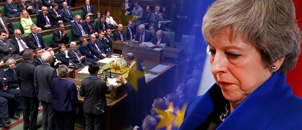 Πρόταση μομφής κατά της Μέι: Σήμερα το απόγευμα η ψηφοφορία