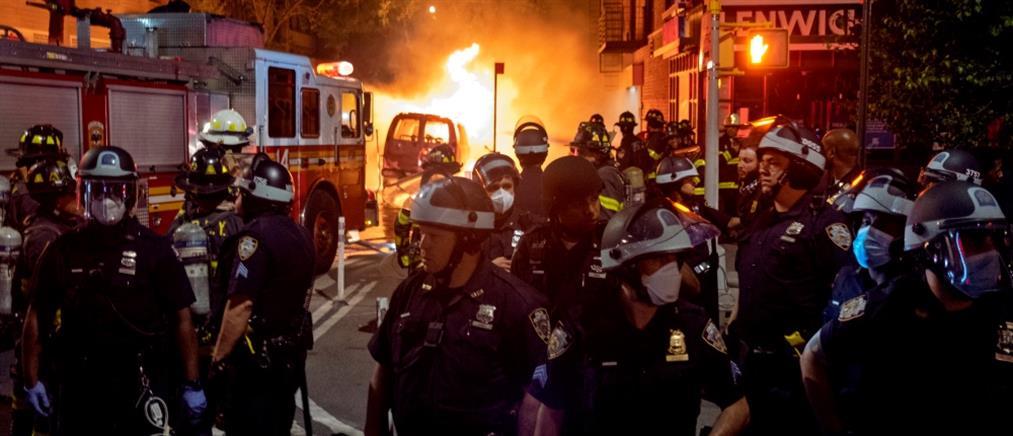 """""""Δεν μπορώ να αναπνεύσω"""": Τα τελευταία λόγια του Τζορτζ Φλόιντ στοιχειώνουν τις ΗΠΑ (εικόνες)"""