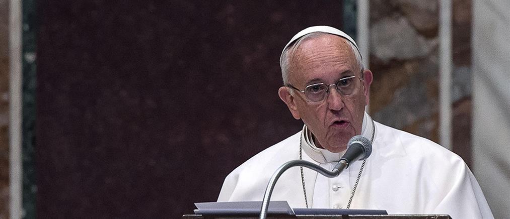 Έξαλλοι οι Τούρκοι με τον Πάπα Φραγκίσκο