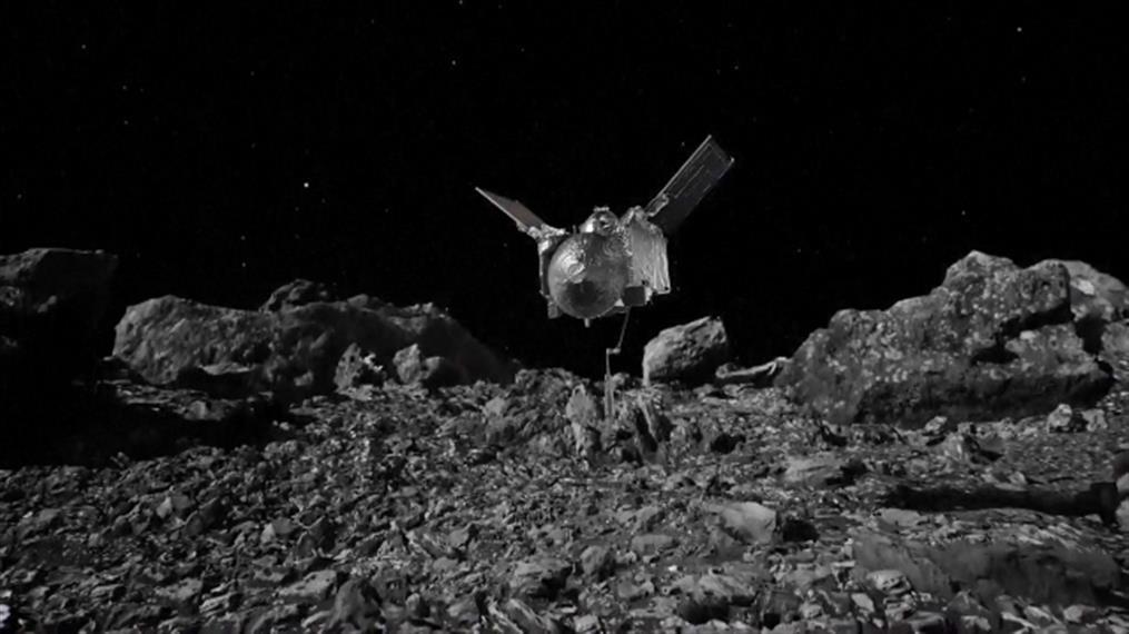 Η NASA «άγγιξε» τον αστεροειδή Μπενού