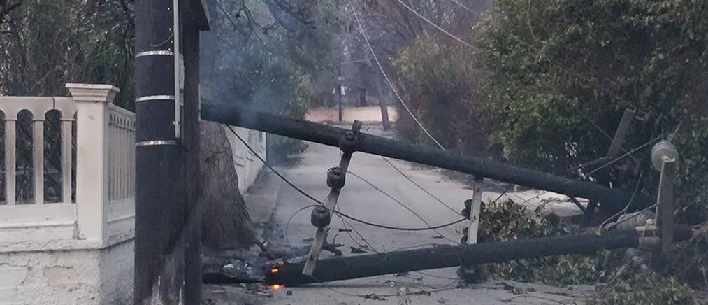 ΔΕΔΔΗΕ: Αποκατάσταση της ηλεκτροδότησης για 1 στα 3 νοικοκυριά στις πληγείσες περιοχές