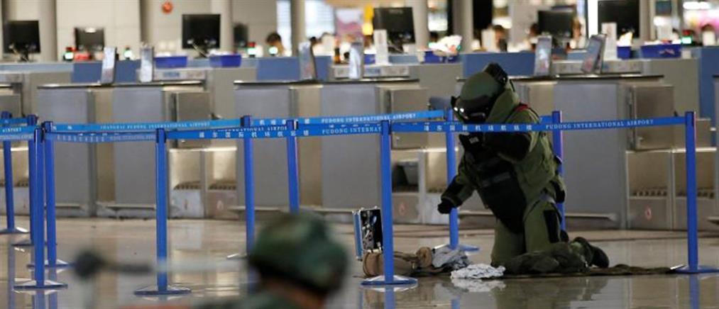 Έκρηξη αυτοσχέδιας βόμβας στο αεροδρόμιο της Σαγκάης (Βίντεο)
