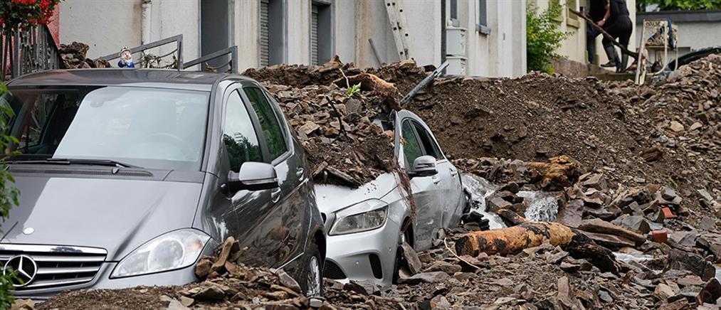 Γερμανία - Πλημμύρες: τραγωδία με δεκάδες νεκρούς και αγνοούμενους