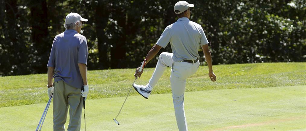 Διακοπές με γκολφ σε ακριβό νησί για τον Ομπάμα (βίντεο)