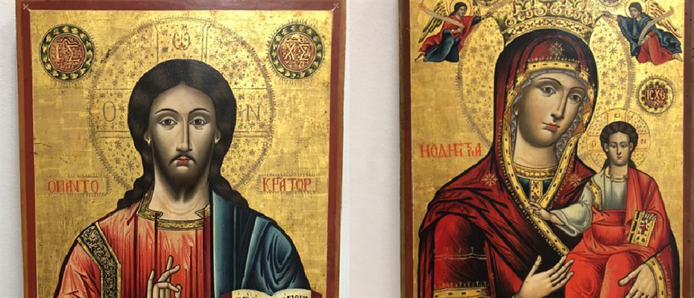 Ο Λίβανος επέστρεψε στην Ελλάδα κλεμμένες εικόνες του 18ου αιώνα