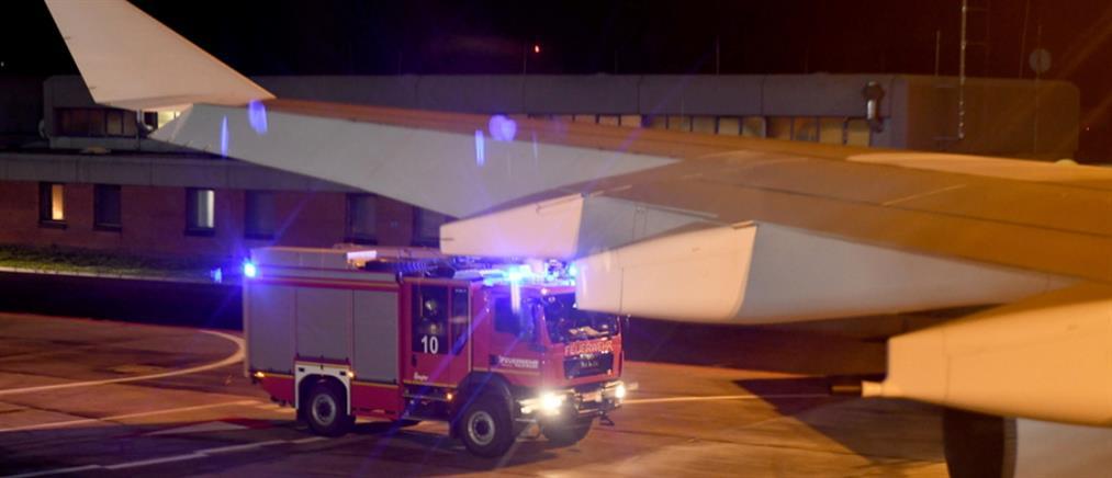 Αναγκαστική προσγείωση για το αεροπλάνο που μετέφερε την Μέρκελ