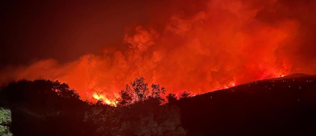 """Φωτιές - ΓΓΠΠ: """"Συναγερμός"""" για 5 περιοχές την Παρασκευή (χάρτης)"""