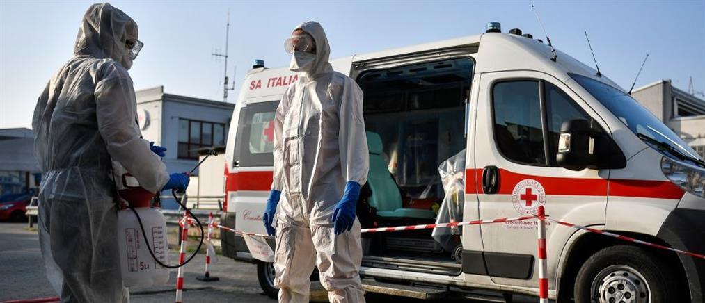 Ιταλία - Κορονοϊός: 766 νεκροί το τελευταίο 24ωρο