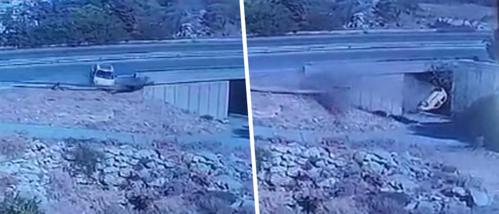 ΒΟΑΚ - Τροχαίο δυστύχημα: βίντεο από κάμερα ασφαλείας