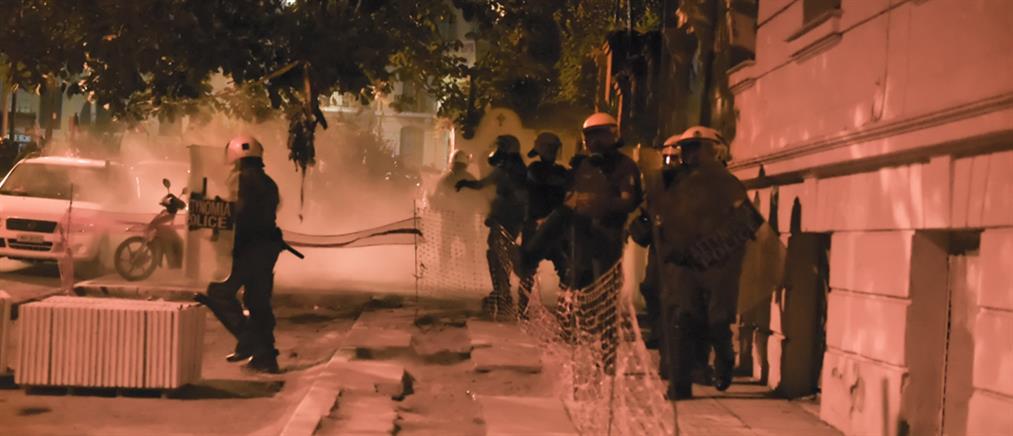 Επεισόδια στο κέντρο της Θεσσαλονίκης (βίντεο)