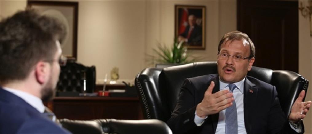 """""""Απασφάλισε"""" ο Χακάν Τσαβούσογλου για Λωζάννη και ελληνοτουρκικά"""