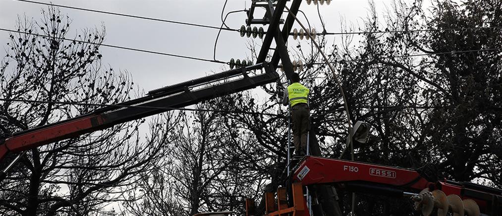 ΔΕΔΔΗΕ: πότε θα αποκατασταθεί η ηλεκτροδότηση στην ανατολική Αττική