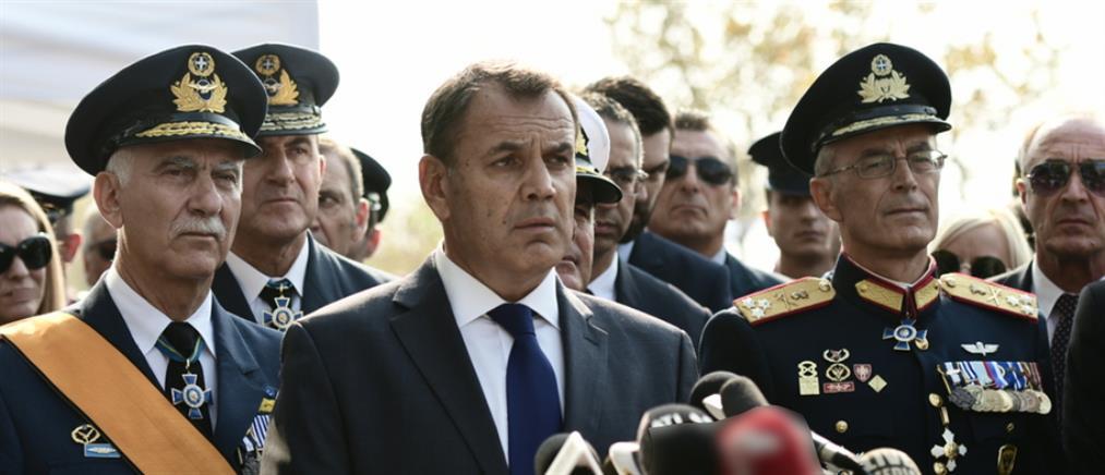 Παναγιωτόπουλος: Ισχυρές κι ετοιμοπόλεμες οι Ένοπλες Δυνάμεις