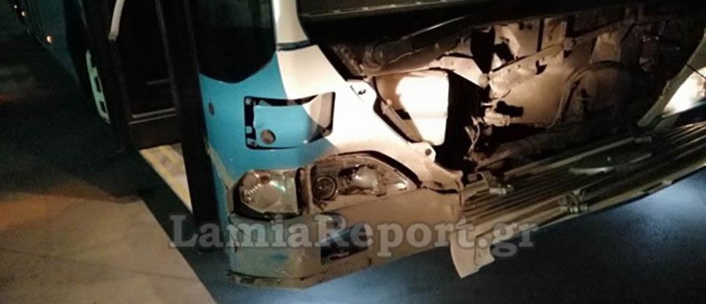 Αστικό λεωφορείο συγκρούστηκε… με αγριογούρουνο (εικόνες)