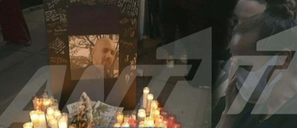 Διαμαρτυρία με κεριά στην μνήμη του Γιώργου Ζαπάντη (εικόνες)