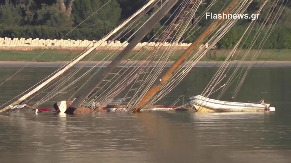 Φονική βύθιση σκάφους στην Σούδα