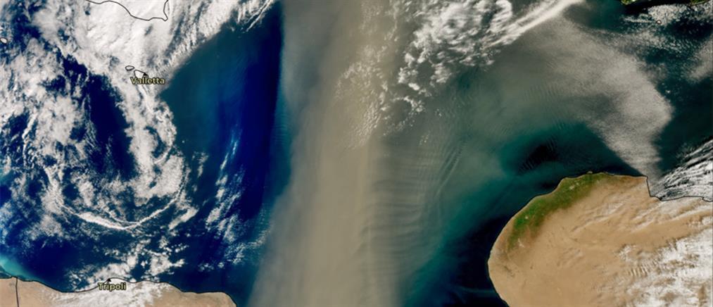 Σύννεφο σκόνης 800 χιλιομέτρων καλύπτει Ελλάδα και Βαλκάνια (εικόνες)