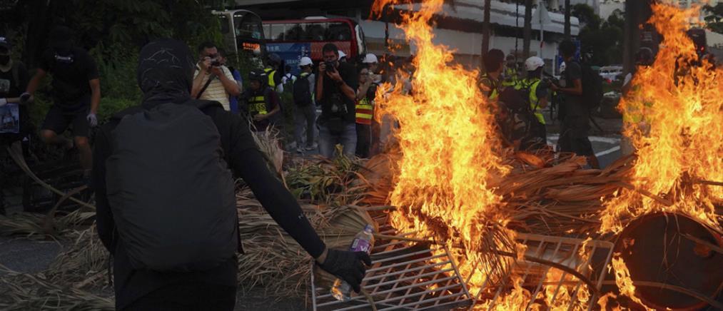 Χονγκ Κονγκ: Βίαια επεισόδια σε αντικυβερνητική διαδήλωση (βίντεο)