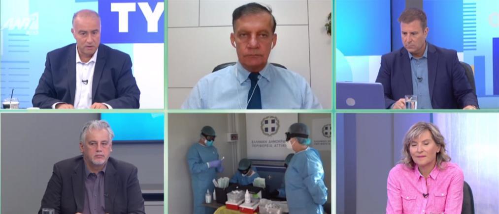 Κορονοϊός - Δημόπουλος στον ΑΝΤ1: τα εμβόλια είναι σε πολύ καλή τροχιά εξέλιξης