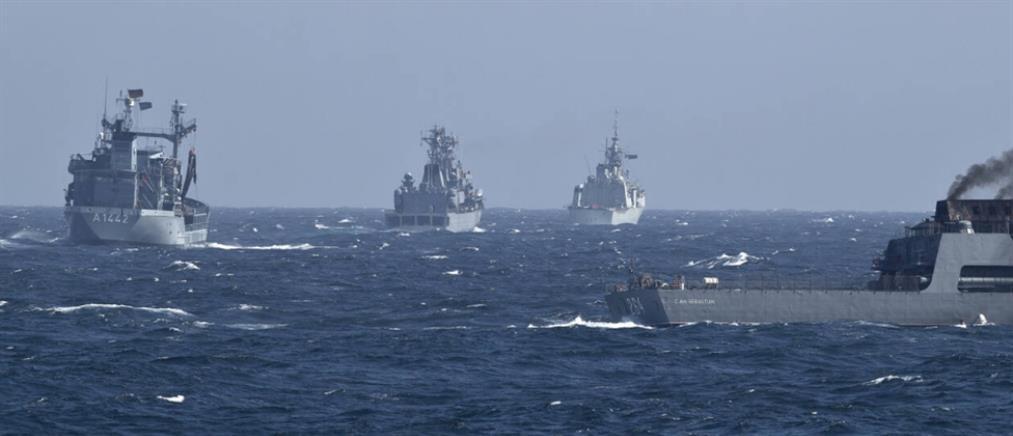 """Σκηνικό """"πολέμου"""" στην Ανατολική Μεσόγειο"""