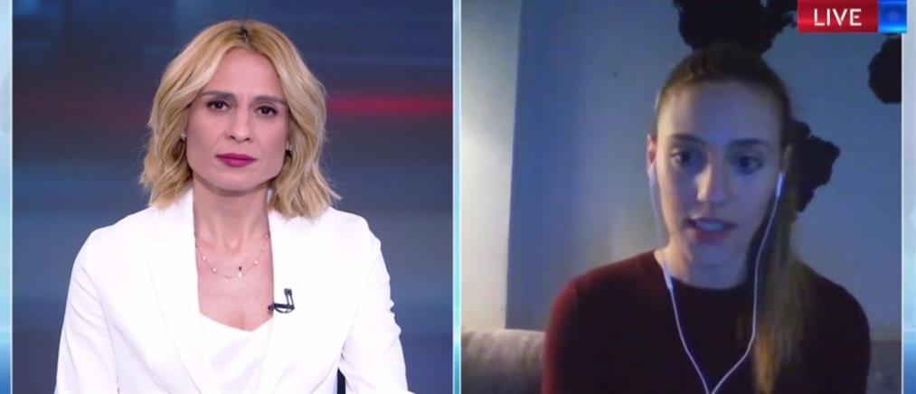 """Η Άννα Κορακάκη στον ΑΝΤ1 για την """"επόμενη ημέρα"""" από την αναβολή των Ολυμπιακών Αγώνων (βίντεο)"""