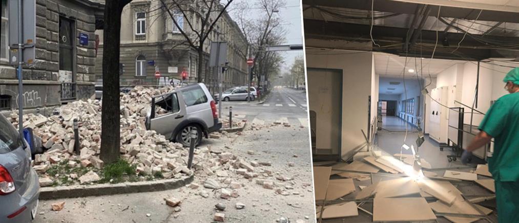 Ισχυρός σεισμός στην Κροατία (εικόνες)