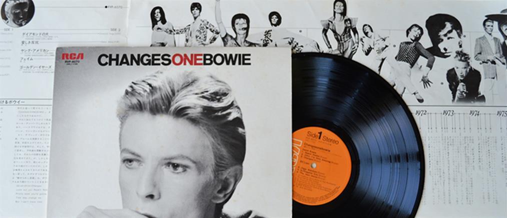 """""""Έκρηξη"""" στις πωλήσεις δίσκων βινυλίου λόγω David Bowie"""