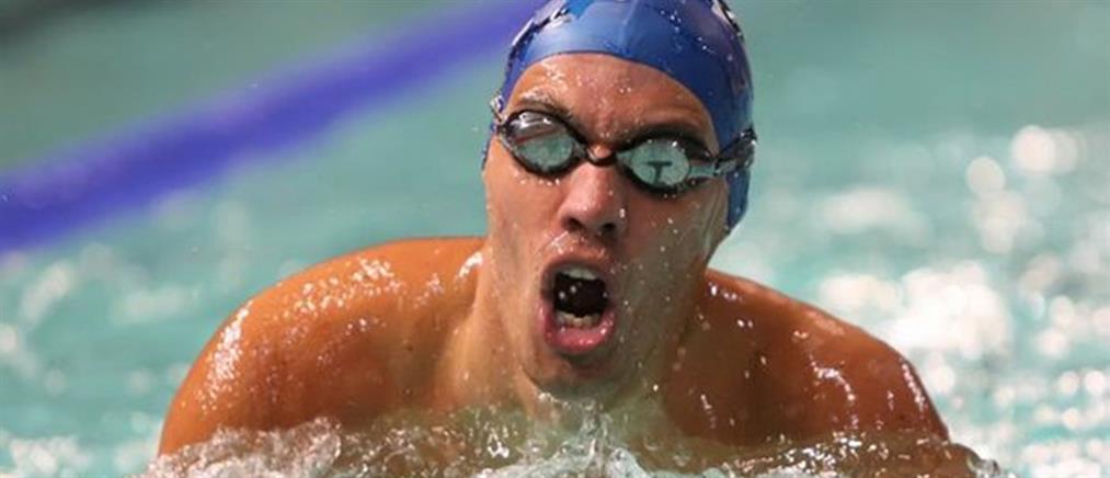 """Κολύμβηση-Ευρωπαϊκό ΑμεΑ: """"Ασημένιος"""" ο Κωστάκης, """"χάλκινος"""" ο Τσαπατάκης"""