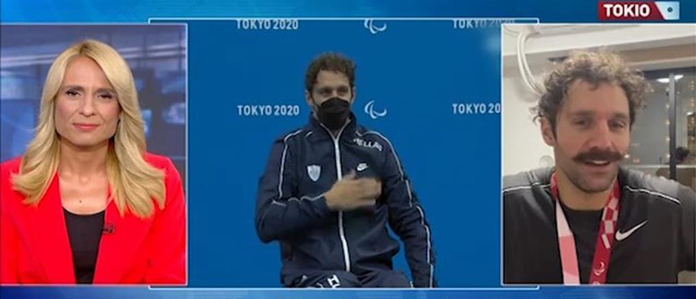 Παραολυμπιακοί – Τσαπατάκης στον ΑΝΤ1: Νικητής είναι αυτός που προσπαθεί