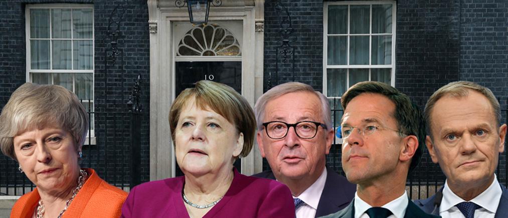 """Brexit: """"Κλειστές πόρτες"""" ετοιμάζεται να """"χτυπήσει"""" η Τερέζα Μέι"""