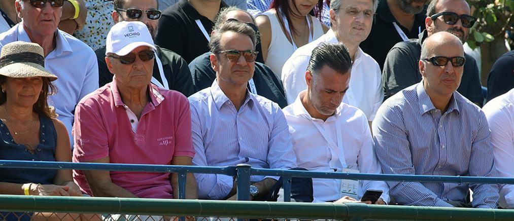 Davis Cup: ο Μητσοτάκης για τον Τσιτσιπά και την Εθνική Ομάδα