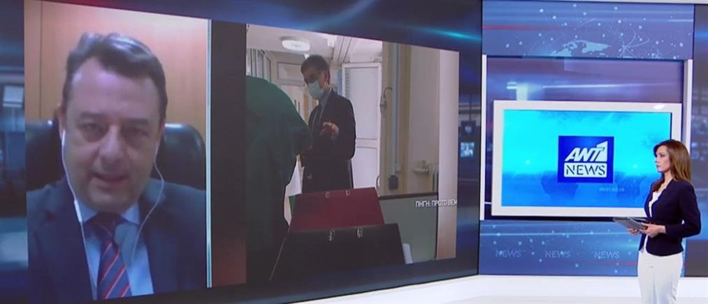 """Ο Χρήστος Ροϊλός στον ΑΝΤ1 για όσα είπε ο Τσιόδρας στους """"εθελοντές"""" γιατρούς του """"Αγία Βαρβάρα"""" (βίντεο)"""