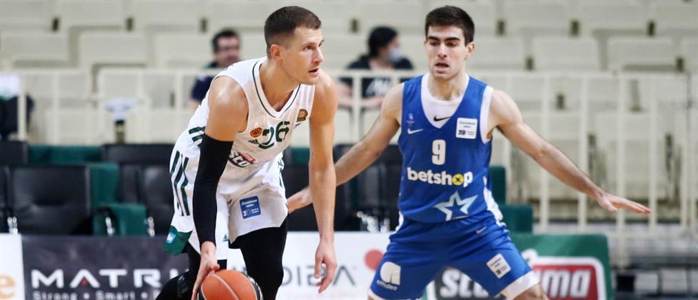 """Παναθηναϊκός - Ιωνικός: Πρώτη νίκη στο πρωτάθλημα για τους """"πράσινους"""""""
