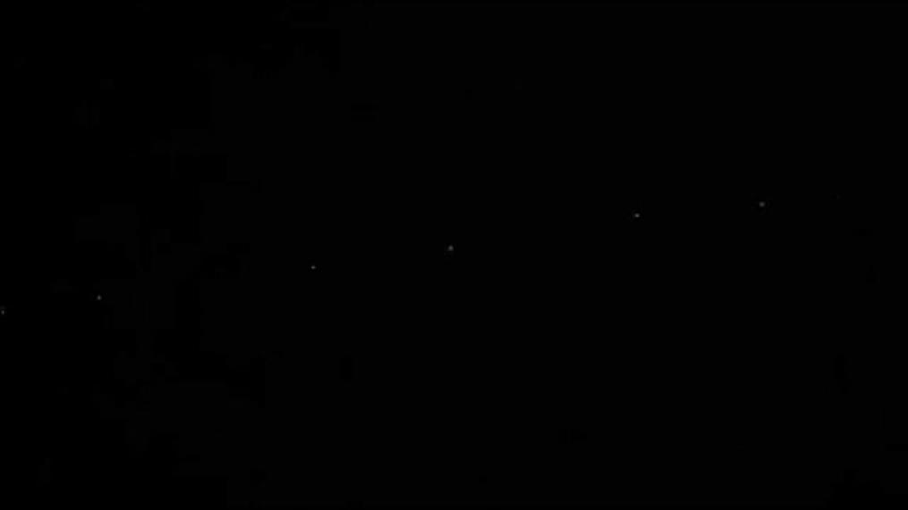 Κοζάνη: δορυφόροι της SpaceX ορατοί στον ουρανό