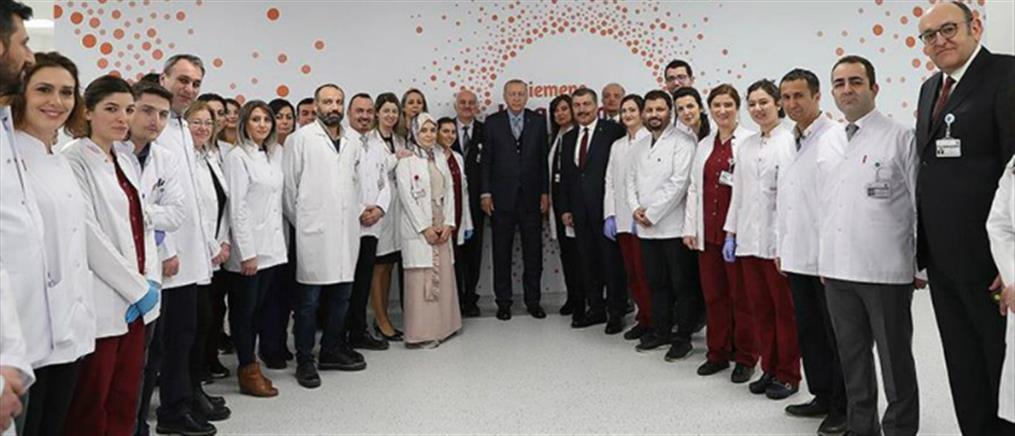 Εγκαινιάστηκε το νέο νοσοκομείο της Άγκυρας, ένα από τα μεγαλύτερα στον κόσμο (βίντεο)