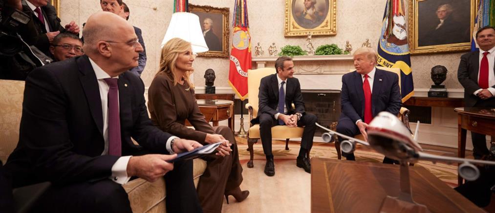 Δένδιας: Απολύτως επιτυχημένη η επίσκεψη στον Λευκό Οίκο