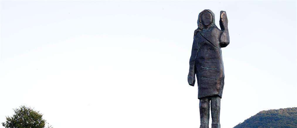 Σλοβενία: Αποκαλυπτήρια του δεύτερου αγάλματος της Μελάνια Τραμπ (εικόνες)