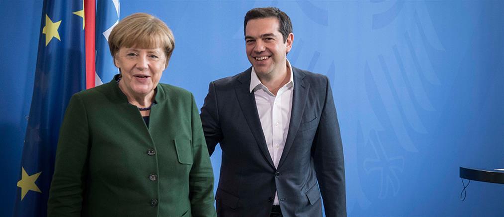 Handelsblatt: ο Τσίπρας προσδοκά ελάφρυνση χρέους από Μέρκελ - Σουλτς