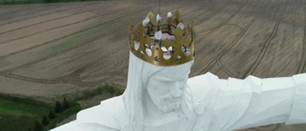 Κεραίες wi-fi πάνω στο μεγαλύτερο άγαλμα του Ιησού (βίντεο)