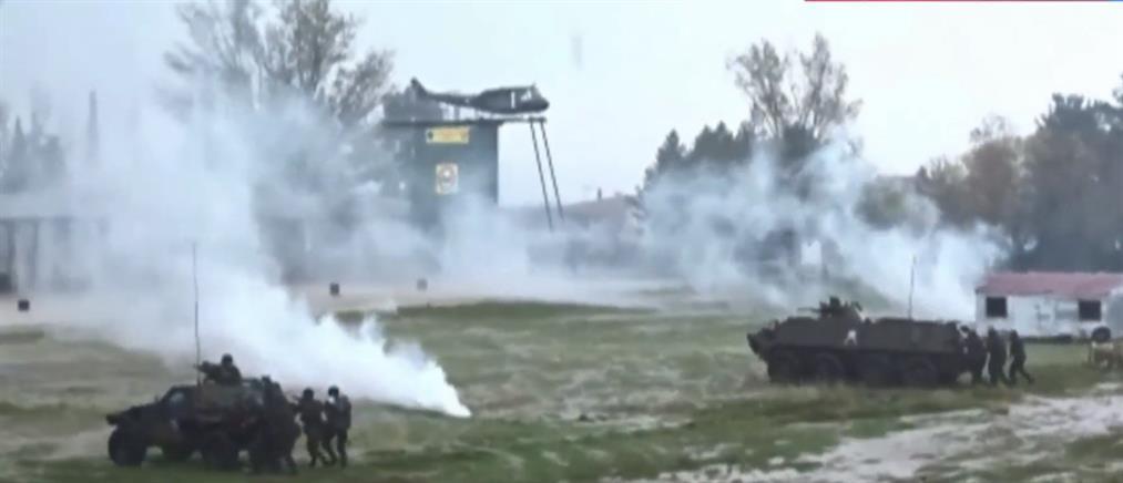 """Αποκλειστικό: εντυπωσιακές εικόνες από την στρατιωτική άσκηση """"Τάλως 2019"""" (βίντεο)"""