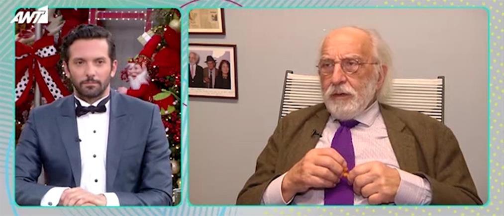Ο Αλέξανδρος Λυκουρέζος μιλά για την Ζωή Λάσκαρη (βίντεο)