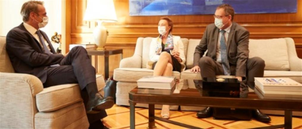 Μητσοτάκης - Πεϊτσίνοβιτς: η ελληνική προεδρία στο Συμβούλιο της Ευρώπης